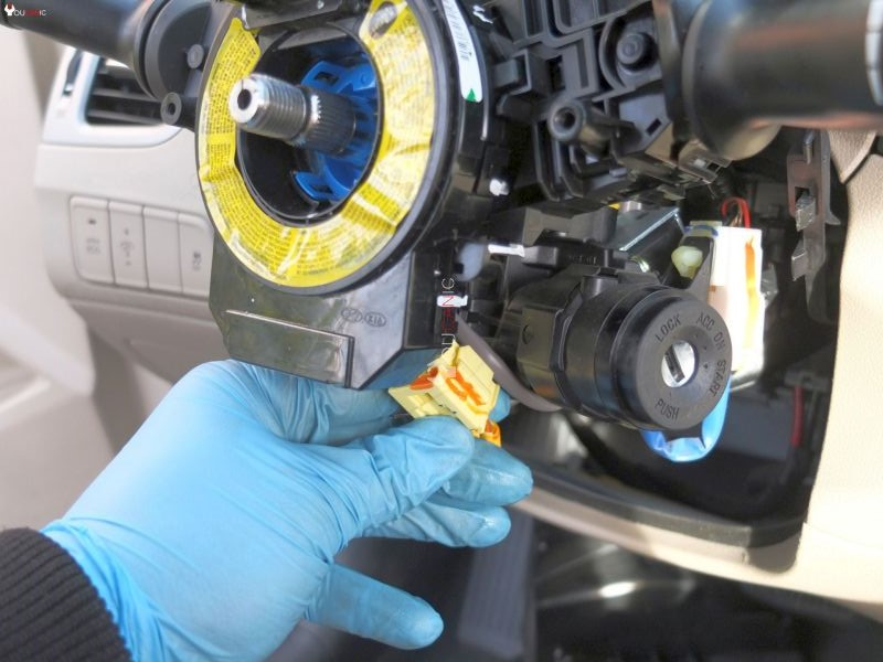 instructions on how to replace turn signal headlight assembley on hyundai