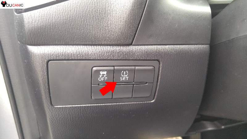 how to reset mazda tpms light