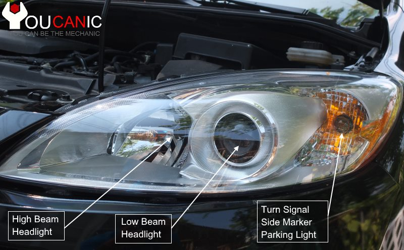 how to replace turn signal on a Mazda 5 2010 2011 2012 2013 2014 2015 2016 2017 2018