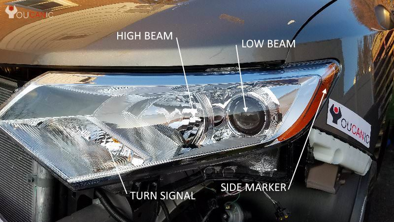 how to replace turn signal Nissan Quest 2011 2012 2013 2014 2015 2016 2017