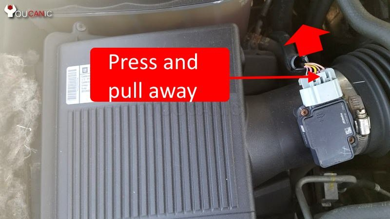 cadillac maf sensor replacement diy