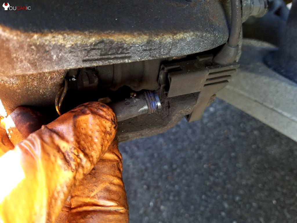 mercedes unplug wear brake wear sensor