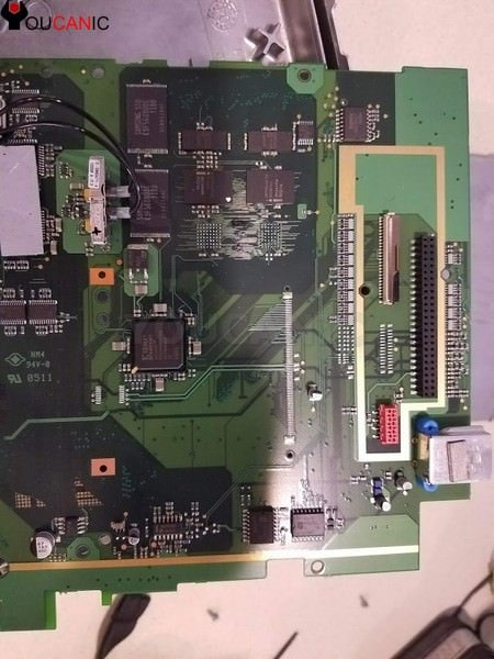 Damaged BMW Idrive CCC Board