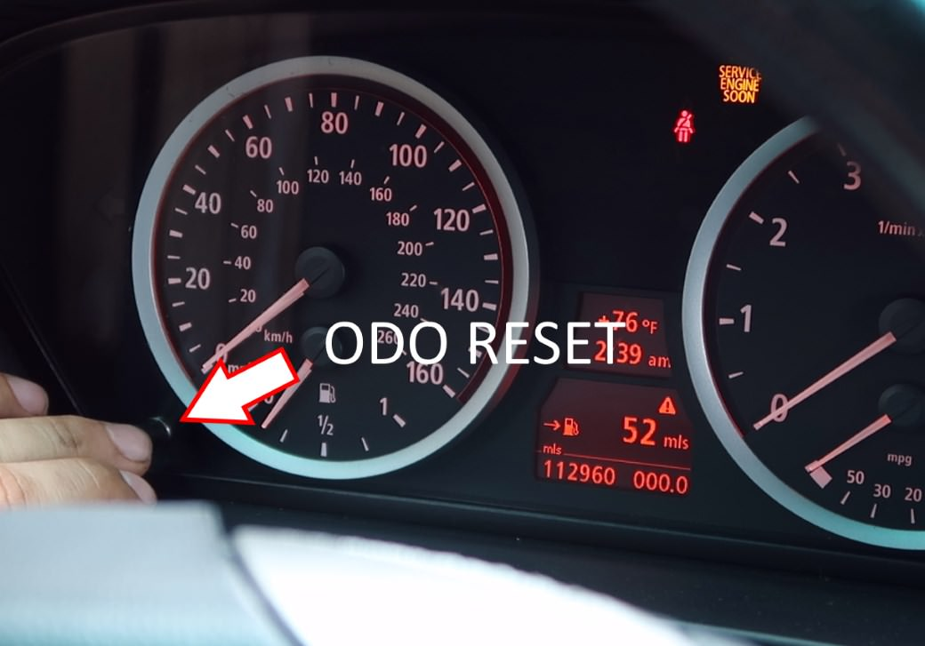 bmw oil service reset instructions