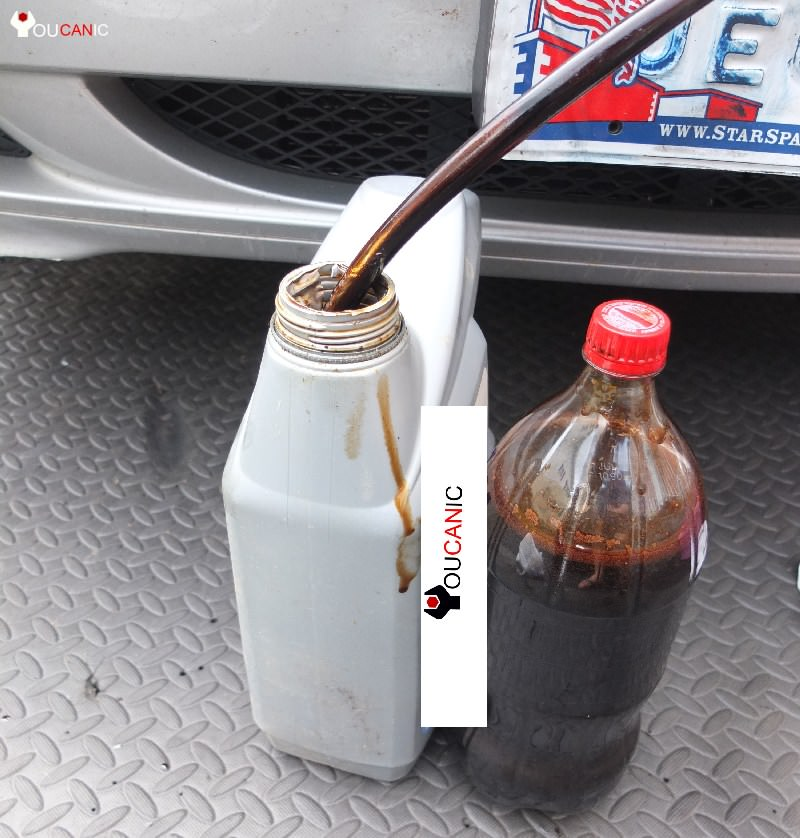 diy oil change with extractor pump