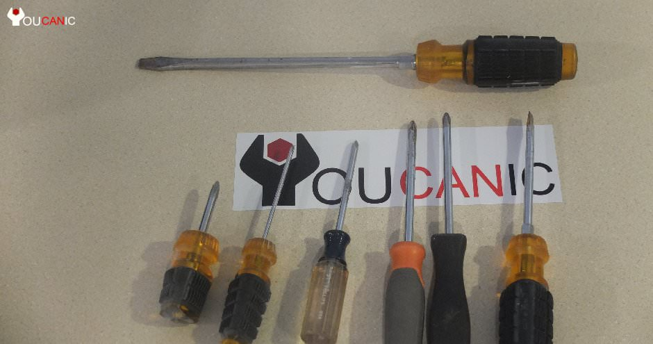 tools needed to fix cars, screwdrivers