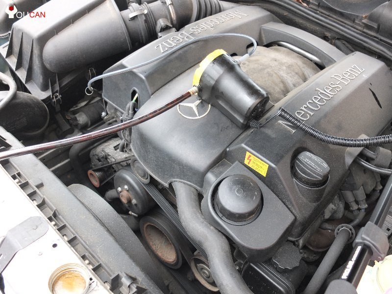 how to change oil using an oil vacuum extractor pump