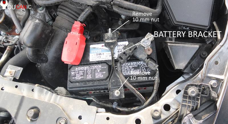 you need a 10 mm wrench to remove car battery