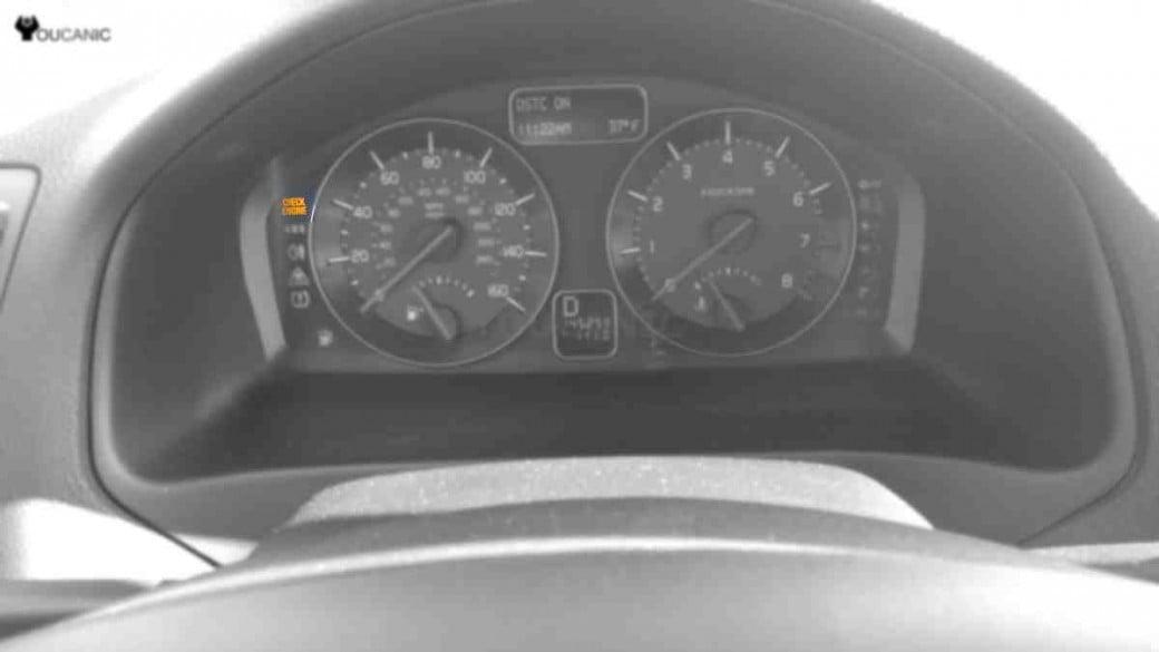 Volvo check engine light
