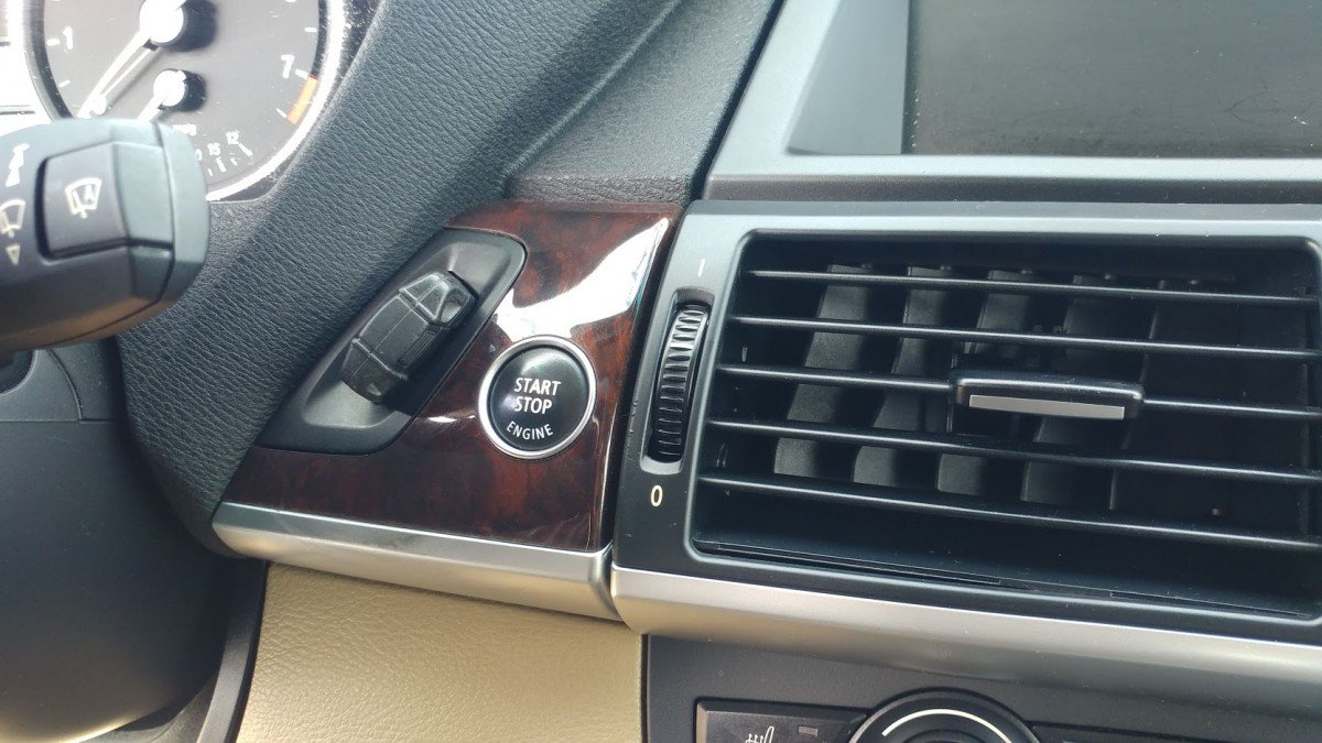 BMW key not detected