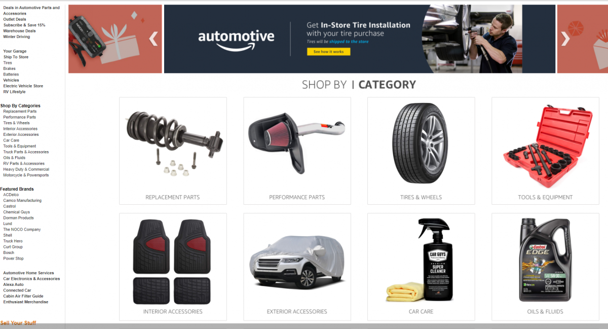 buy cheap car parts on amazon