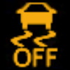 Chevrolet Stability Control OFF Indicator