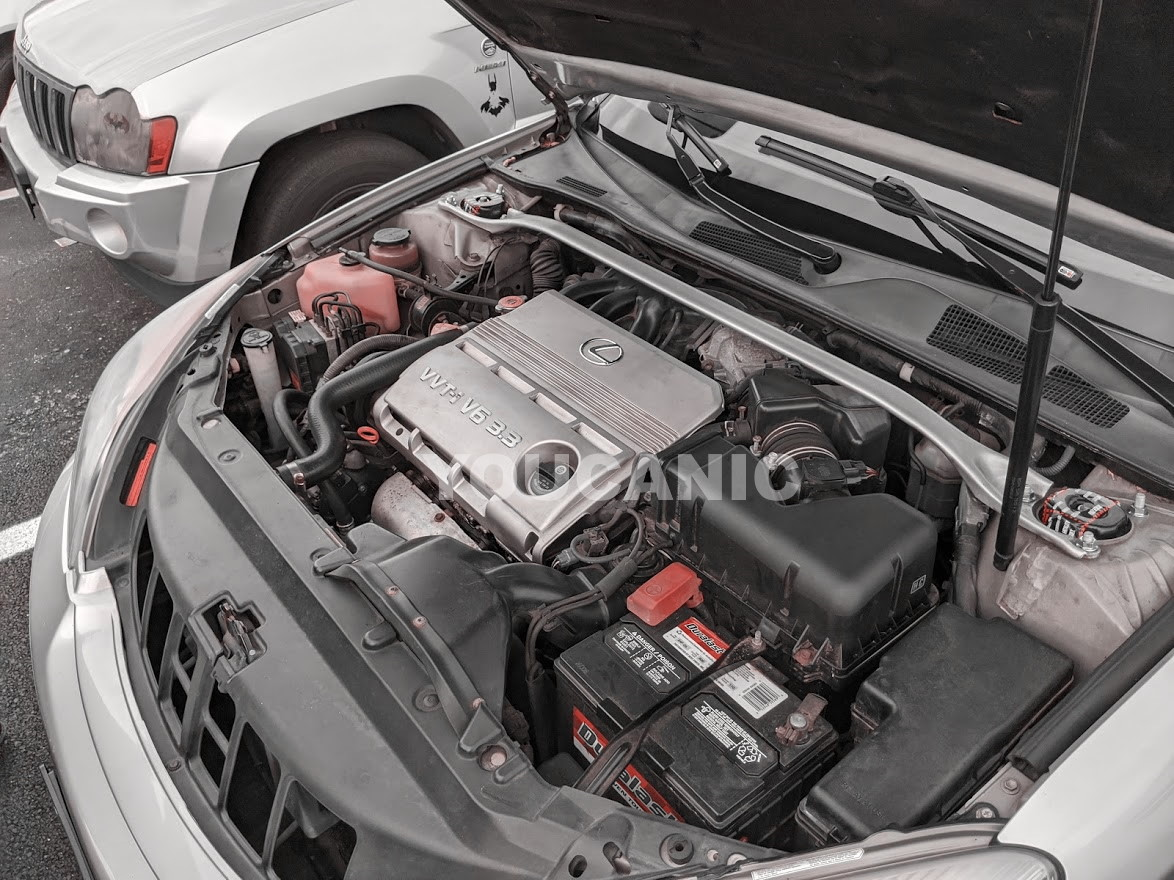 Duralast battery installed by autozone
