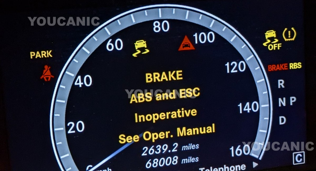 Mercedes Cruise Control Inoperative NOT WORKING