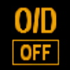 Nissan Overdrive OFF Indicator
