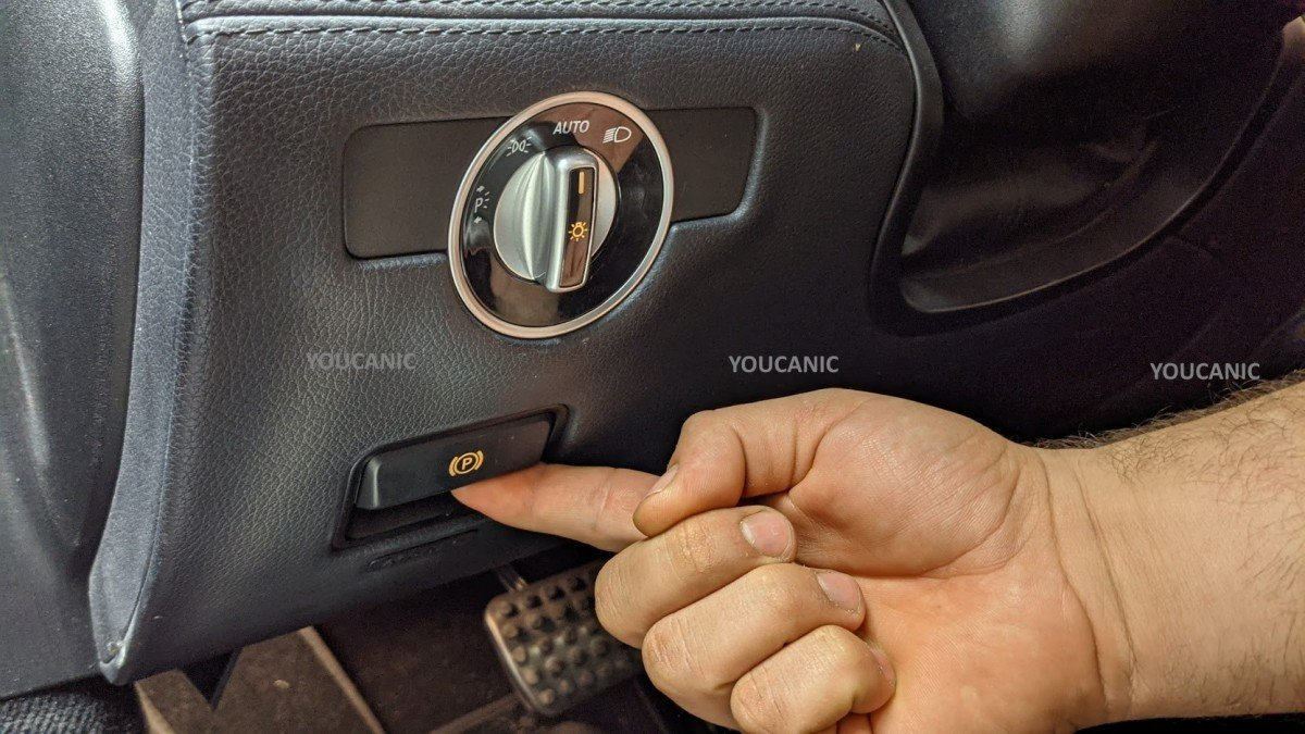 FIX MERCEDES ELECTRONIC PARKING BRAKE WARNIGN MESSAGE SEE OWNERS MANUAL