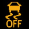 Jeep  Stability Control OFF Indicator