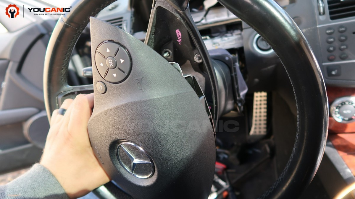 removed airbag