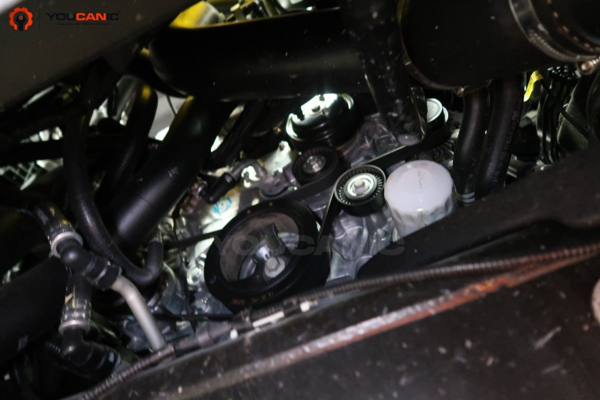 ford f150 oil filter location
