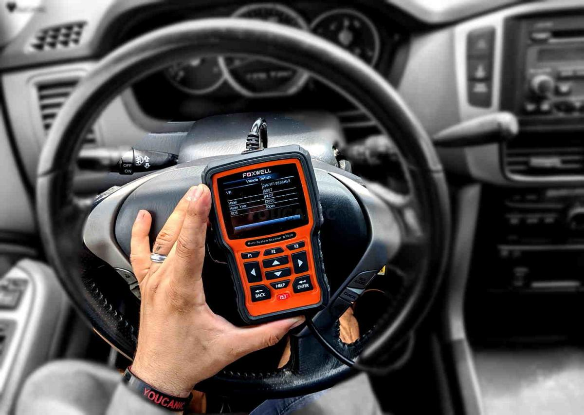 How to read Tyota ABS fault codes