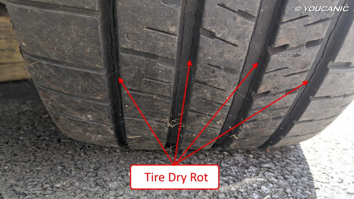 Tire Dry Rot