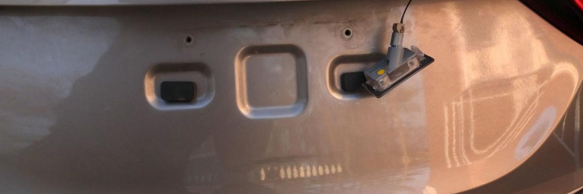 Hyundai Elantra License Plate Light Bulb Replacement