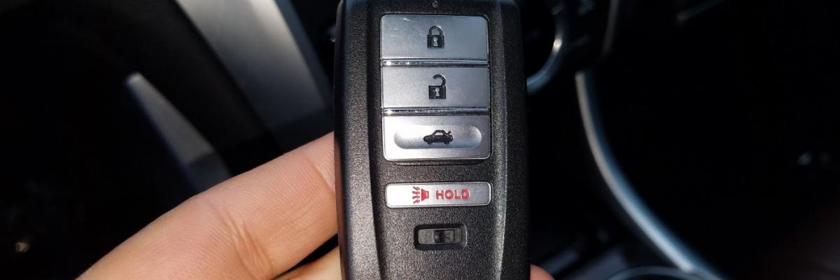 How to Order Acura Car Key