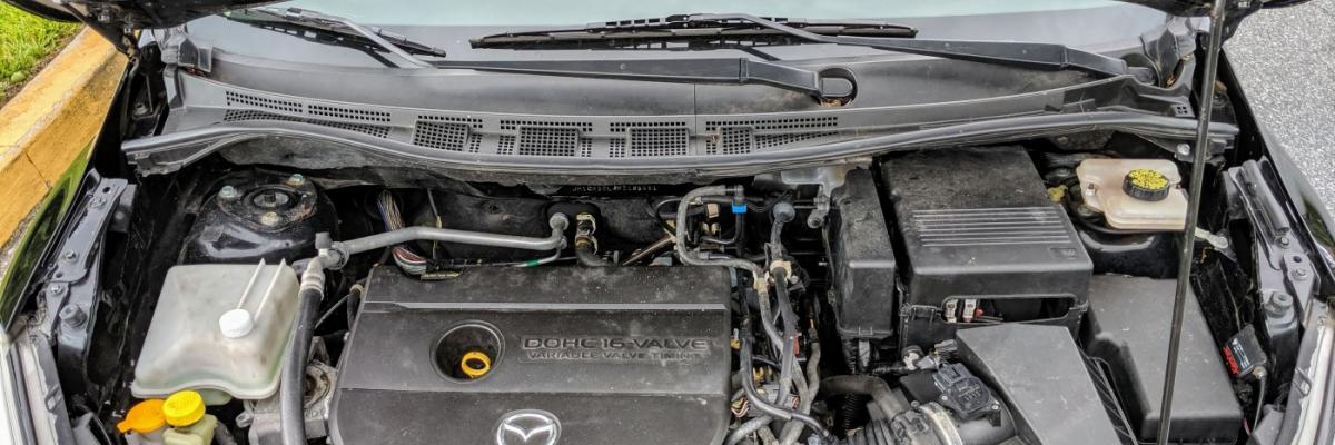 How to Check &  Add Power Steering Fluid Mazda 5