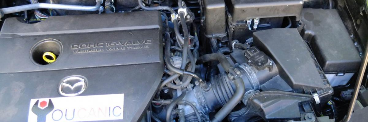 How to Add Coolant, Check Level Mazda 5