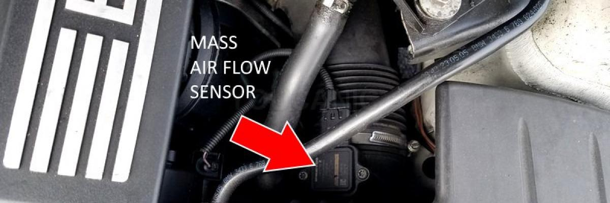 How to change Mass Air Flow MAF Sensor on BMW  3-Series 2004-2013