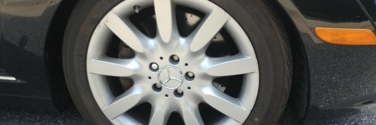 Mercedes-Benz S-Class W221 Front Brake Pads and Rotors
