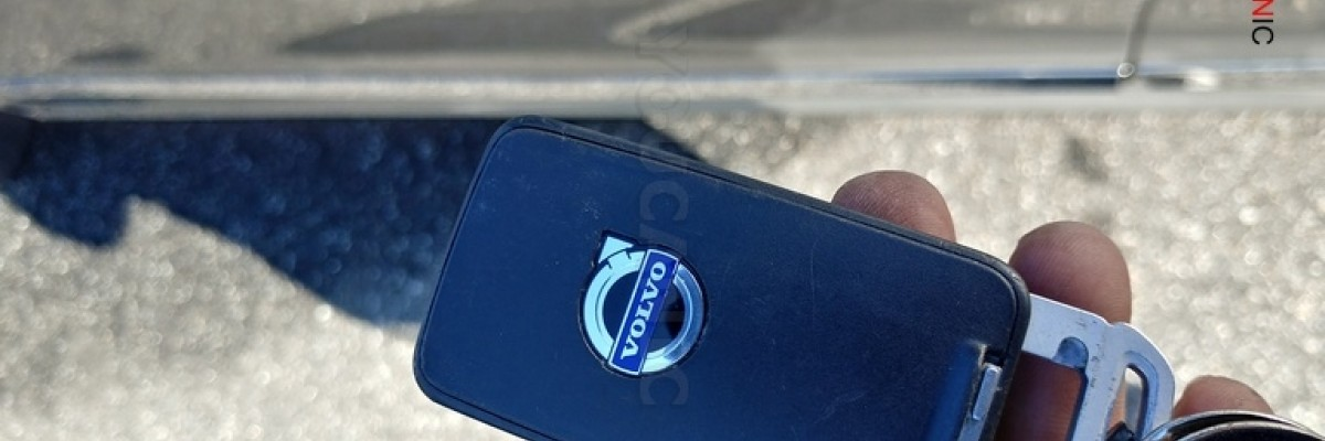 How to change Volvo key fob battery