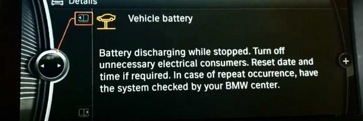 BMW Increased Battery Discharge