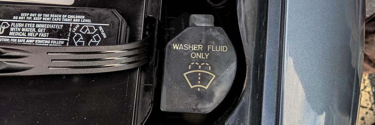 How to Add Windshield Washer Fluid to a Lexus
