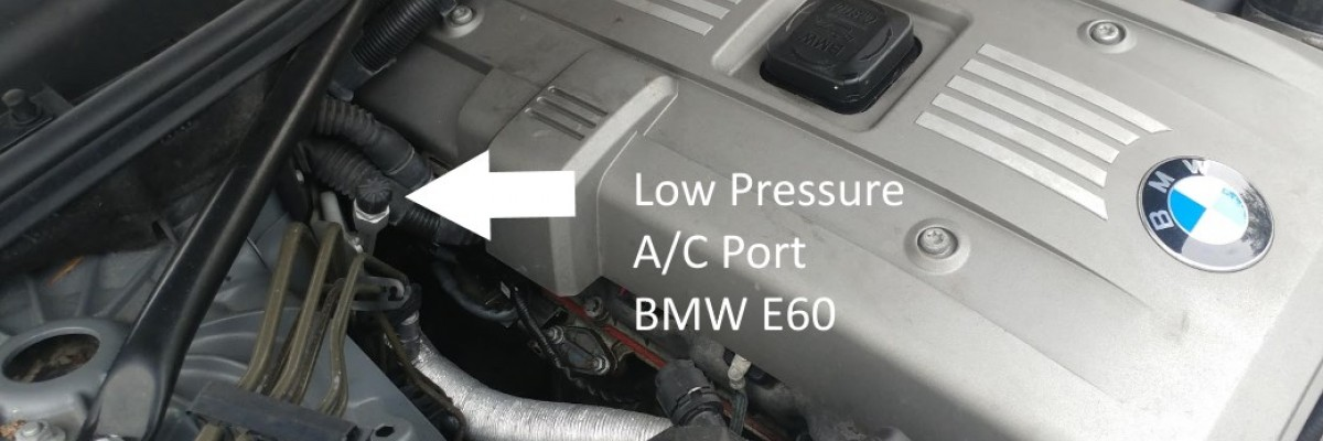 How to Recharge BMW  AC Air Conditioner
