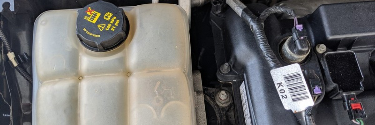 How to Replace Ford Focus Coolant Overflow Reservoir