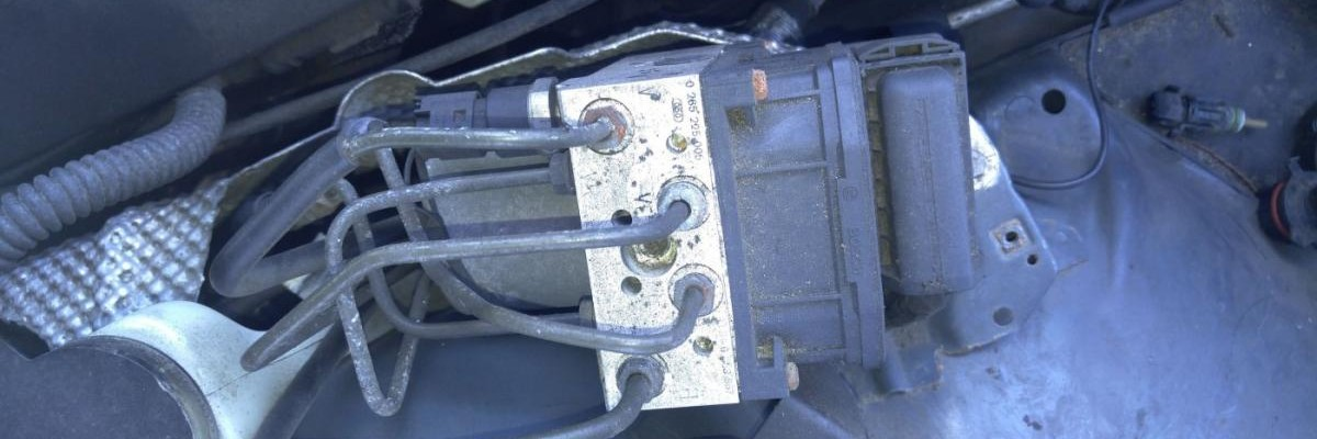 BMW ABS Pump Motor Constantly Running