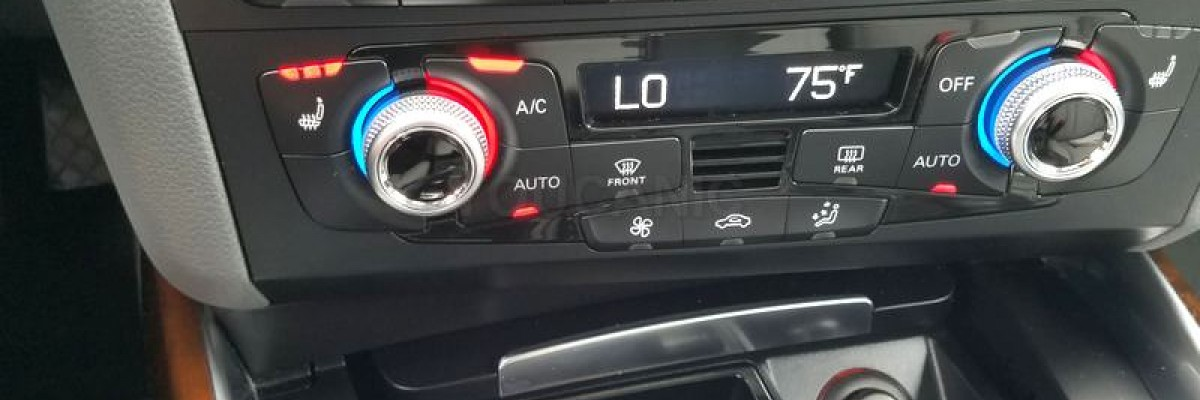 How to Charge Audi Air Conditioner A/C