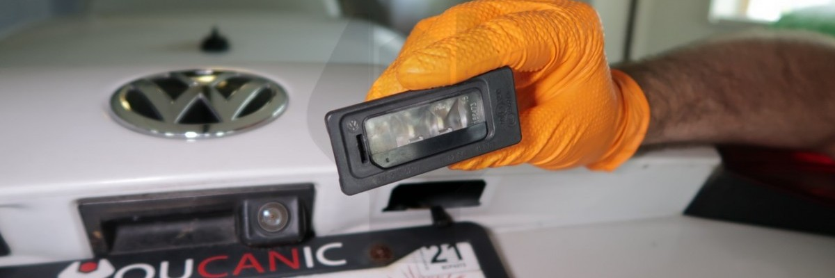 How to Replace Volkswagen Jetta License Plate Light Bulb