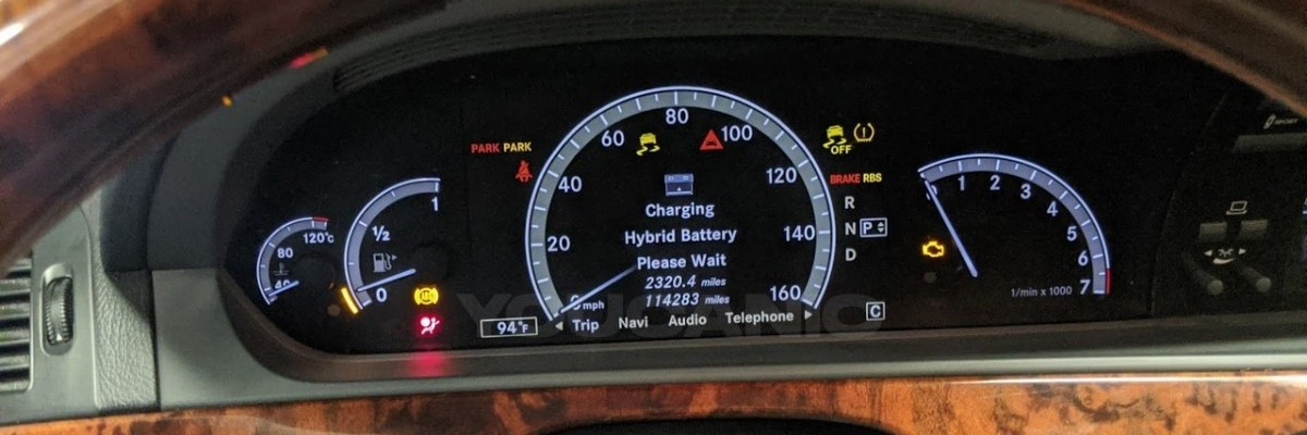 How to Charge Mercedes-Benz S400  Hybrid High Voltage Battery