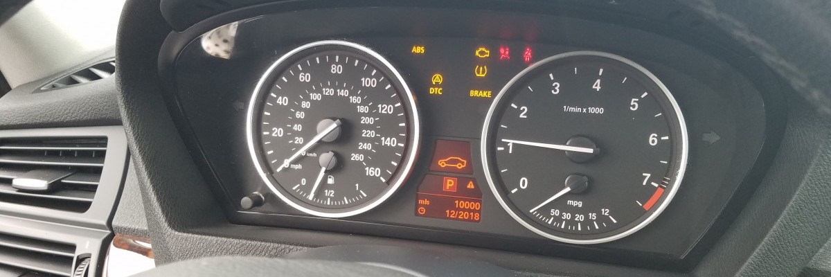 BMW Intermittent Warning Lights and Fail Safe Mode