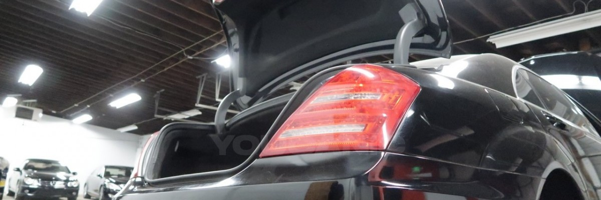 Mercedes-Benz S-Class Trunk Won't Close / Lock