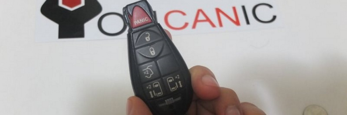 Chrysler Key Fob Battery Replacement Instructions