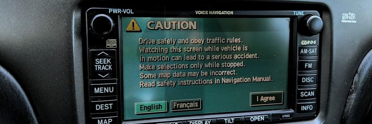 How to Adjust Lexus Backup Camera