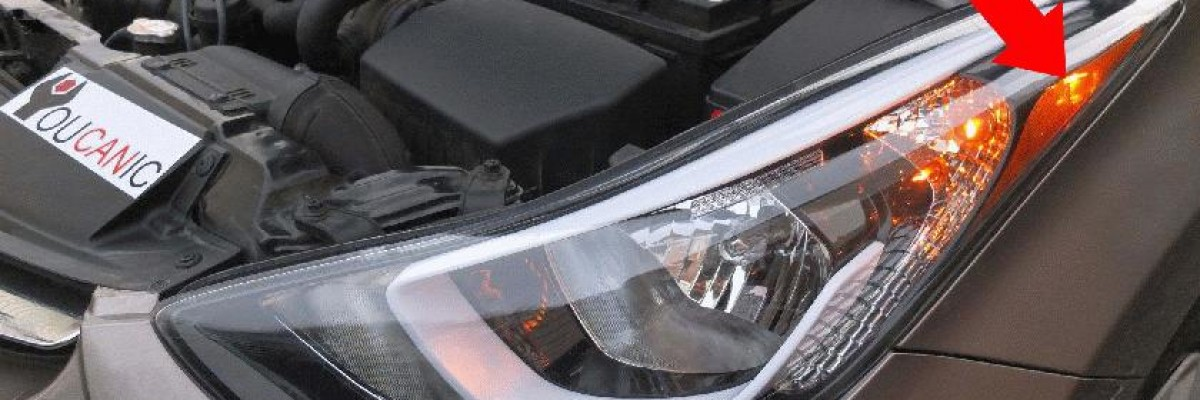 Hyundai Elantra Front Side Marker Light Bulb Replacement