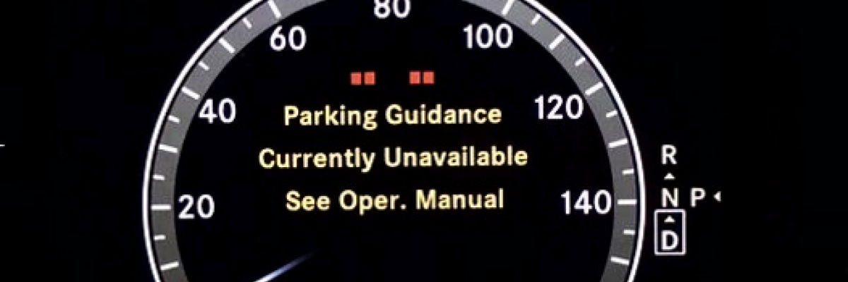 Mercedes-Benz Parking Guidance Currently Unavailable
