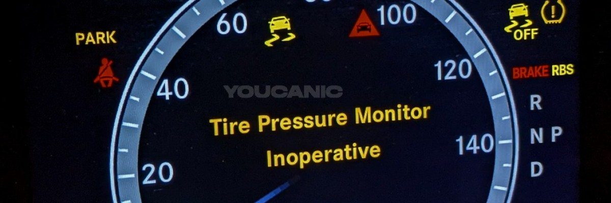 """Mercedes-Benz """"Tire Pressure Monitor Inoperative"""" Meaning & Problems"""