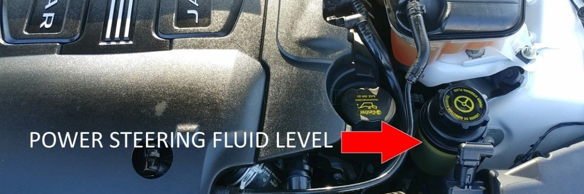 How to Check & Add Power Steering Fluid on a Jaguar