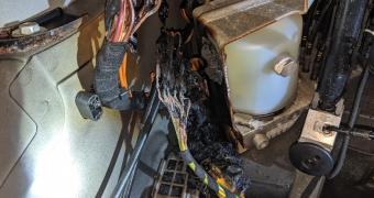 Mercedes-Benz Electrical Nightmare - Fire caused by convertible pump