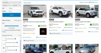 best website to buy a used car online
